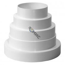 Переходник пластмассовый д 80-100-120-125-150мм VA80