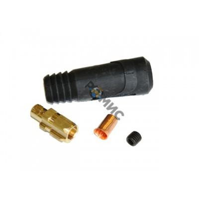 Разъём сварочный 35-50 мм2 DX50 TELWIN (папа), Италия