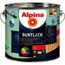 Эмаль алкидн. Alpina Цветная эмаль (Alpina Buntlack) глянцевая RAL 1015 Слоновая кость 750мл / 0,788кг, Германия