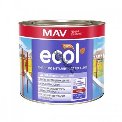 Эмаль ПФ 115 зелёная 2,0 кг (2,4л) ECOL по металлу и древесине