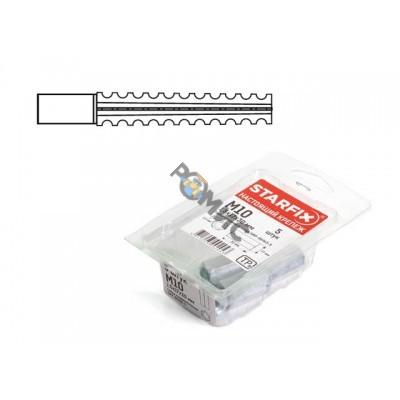 Дюбель для газосиликатных блоков 8х60 мм MUD (12 шт в пласт. конт.) STARFIX (SMP1-39282-12) Китай