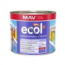 Эмаль ПФ 115 белая ECOL 2,4 л по металлу и древесине