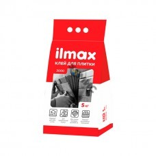 Клей облицовочный 5кг ILMAX 3000 st./для плитки д/внутр. и нар. работ, РБ