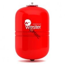 Бак мембранный для отопления WESTER (5 атм.) WRV  24 л