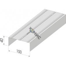 Профиль стеновой направляющий ПН 100-3000-0,5 (дл.3м)