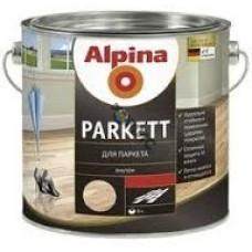 Лак алкидн. Alpina Для паркета (Alpina Parkett) шелковисто-матовый 10 л / 9.2 кг, Германия