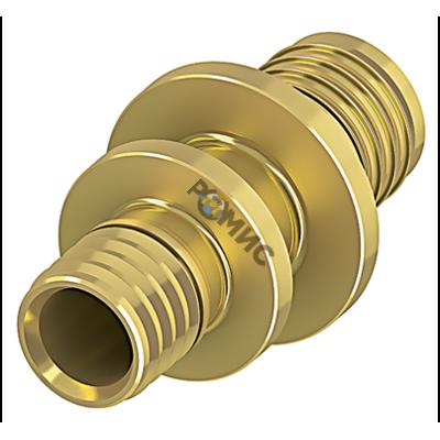Соединение труба-труба редукционное, латунь 25 х 16, Германия 706504