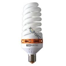 Лампа энергосберегающая КЛЛ-FS-105 Вт-2700 К–Е40 (83х260 мм) TDM, РФ