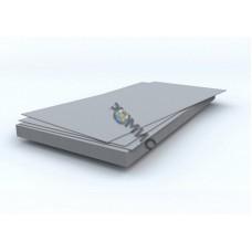 Лист а/ц плоский (шифер) непрессованный 8мм (1750*1000*8мм) ГОСТ 18124-95, РФ