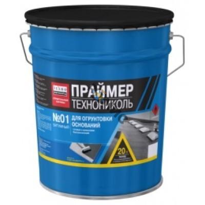 Праймер битумный ТЕХНОНИКОЛЬ №01, 16кг