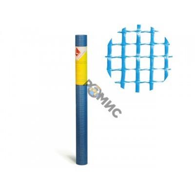 Стеклосетка штукатурная яч. 5х5, 160 гр/м2, синяя (1рул=10м.)