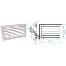 Решетка вентиляционная РА 2/1 - 150х100, РБ