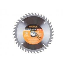 Диск пильный 160х20/16мм 40 зубов по дереву (твердоспл. зуб) STARTUL (ST5061-40)