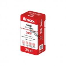 Клей облицовочный 25кг ILMAX 3000 для плитки