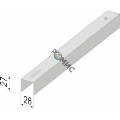 Профиль 28х27*0,40 (UD) потолочный направляющий L= 3м