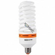 Лампа энергосберегающая КЛЛ-FS-65 Вт-2700 К–Е27 (73х218 мм) TDM, РФ