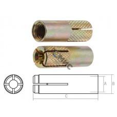 Анкер забиваемый М  6х8х25мм STARFIX (SMP-44201-1)