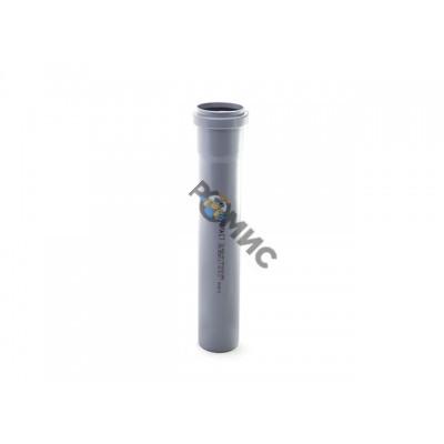 Труба 50х1000 мм для внутренней канализации