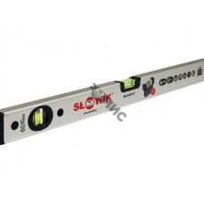 Уровень 1000 мм 2 глаз. брусковый магнитн., серебро PNM0 SLOWIK (быт.