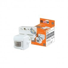 Датчик движения на прожектор ДДПр-01 (белый) 1100Вт, 5-480с, 12м, 5+Лк, 120гр., IP44, TDМ