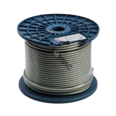 Трос для растяжки в оплетке ПВХ, М 4/5, (бухта 200м) DIN 3055 STARFIX (SMP-53725-200) стр.вв: РФ