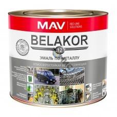 Эмаль Belakor 12 по металлу RAL 5005 синий 10 л.(10кг) атмосферостойкая быстросохнущая