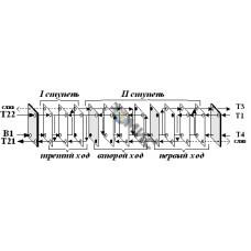 Теплообменник пластинчатый Р-0,06-1,8-3хБГВ (30) (3+3+8)
