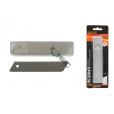 Лезвия сменные сегментированные 25мм 10шт STARTUL MASTER (ST0940-25) (лезвие для ножа)