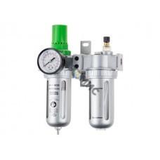 Фильтр воздушный ECO AU-02-14 с регулятором давления и маслораспылителем (1/4