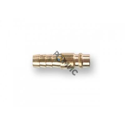 Соединение быстросъем. ПАПА х елочка 10 мм (латунь) ECO