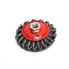 Щетка дисковая косич.125мм/M14 GEPARD (GP0885-125)