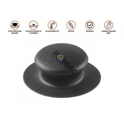 Бакелитовая ручка к стеклянной крышке, черная, PERFECTO LINEA