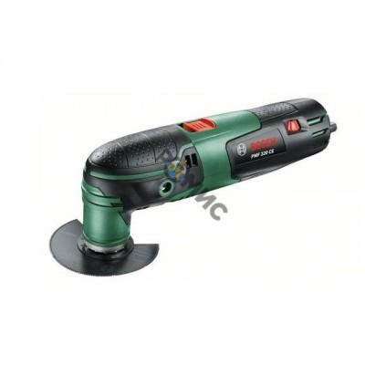 Многофункциональный инструмент (реноватор) BOSCH PMF 220 CE в чем. + набор оснастки (220 Вт, 15000 -