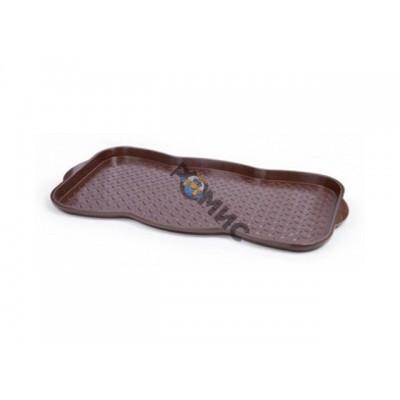 Поддон для обуви, шоколадный, BEROSSI (Изделие из пластмассы. Размер 759.4 х 384.6 х 33 мм)