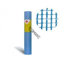Стеклосетка штукатурная яч. 5х5, 160 гр/м2, рул.1х50м, синяя