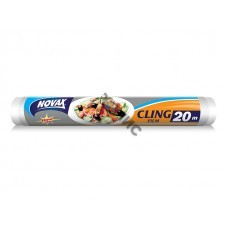 Пленка для продуктов 20м NV (Упаковка: Рулон. Материал: LDPE. Длина, м: 20. Ширина: 30 см.) (NOVAX)
