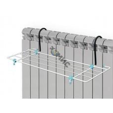 Сушилка для белья на батарею,  2,1м, ширина 45см, NIKA (Сушилка для белья на батарею, ширина 450, 2,