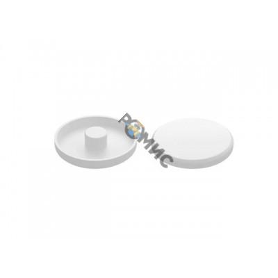 Заглушка для анкера рамного 10 мм, декоративная белая (50 шт в зип-локе) STARFIX
