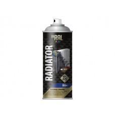 Краска-эмаль аэроз. для радиатора INRAL RADIATOR THERMAL ENAMEL белый 400мл (Цвет белый.)