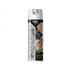 Краска-эмаль аэроз. флуоресц. белый INRAL SPRAY PROFESSIONAL FLUOMARKER белый 500мл (26-7-5-006)