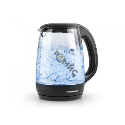 Чайник электрический AKL-232 NORMANN (2200 Вт; 1,7 л; стекло; подсветка)