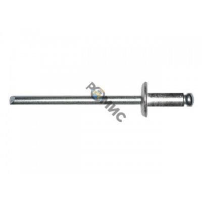 Заклепка вытяжная 4.8х10 мм сталь/сталь, цинк (500 шт в карт. уп.) STARFIX
