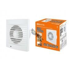 Вентилятор ф120 C, TDM  белый, бытовой настенный 120 С (SQ1807-0002)
