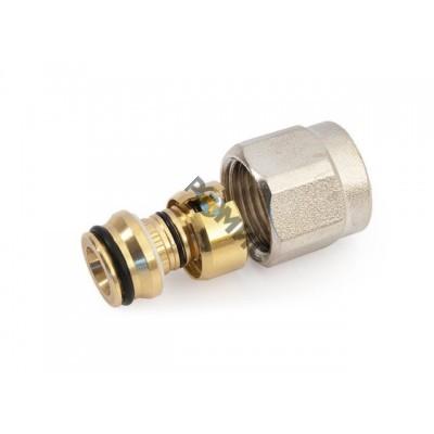 Евроконус (адаптер) 16(2.0)х3/4 для трубы многослойной General Fittings
