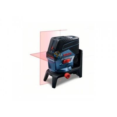 Нивелир лазерный BOSCH GCL 2-50 C со штативом и держателем в кор. (проекция: крест, до 50 м, +/- 0.3