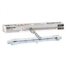 Лампа галогенная линейная ЛГ-150 Вт-R7s-78 мм TDM