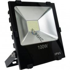 Прожектор светодиодный 100Вт 8000лм 6500К IP65 Космос K_PR5_LED_100, 9622 РФ