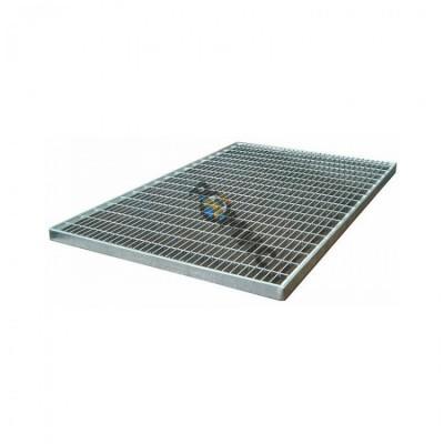 Решетка 490*990 мм стальная ячеистая оцинкованная, РФ