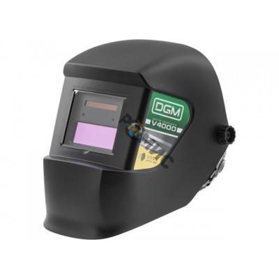 Щиток сварщика с самозатемн. светофильтром DGM V4000 (1/1/2/2; 91х35мм; DIN 3/11/15) Китай