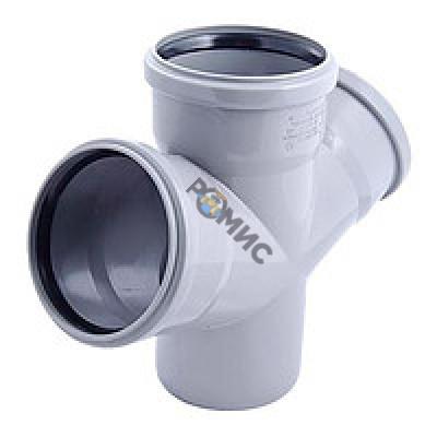 Крестовина для внутренней канализации  110/110/110х67 HTDA